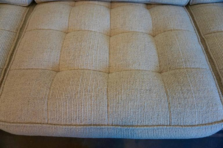 American Florence Knoll Three-Seat Sofa For Sale