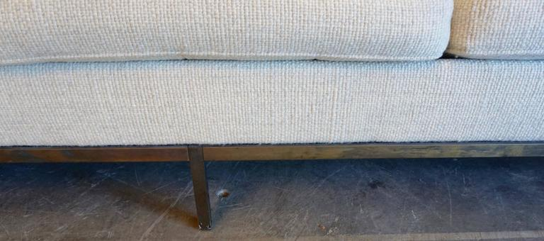 Mid-20th Century Florence Knoll Three-Seat Sofa For Sale