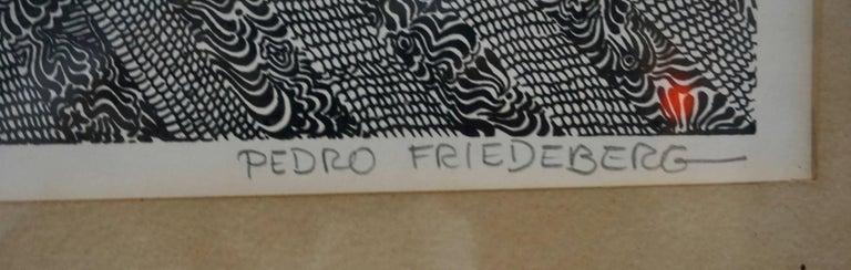 Serigraph Print by Pedro Friedeberg 2