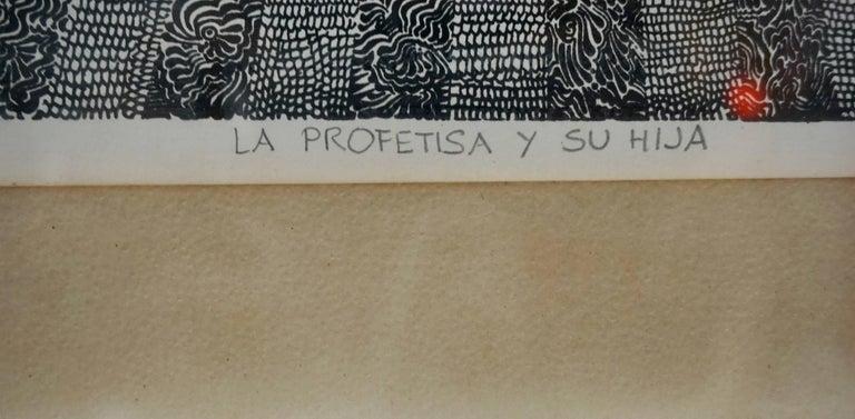 Serigraph Print by Pedro Friedeberg 3