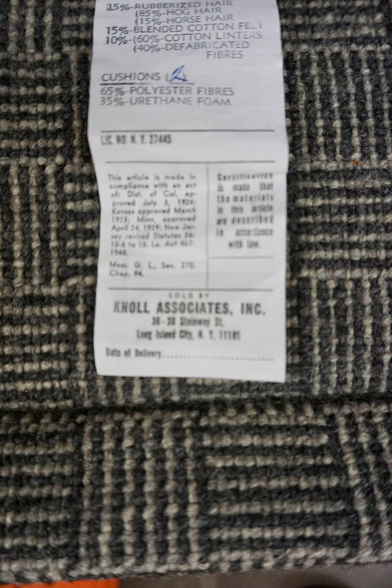 Pair of Knoll Lounge Chairs 4