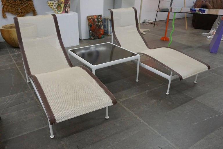 """""""1966"""" series for Knoll. Slings and frames in excellent condition. Side table and two dining tables available."""