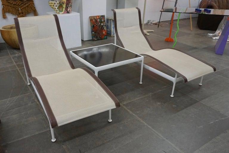 Pair of Richard Schultz Contour Lounge Chairs 2