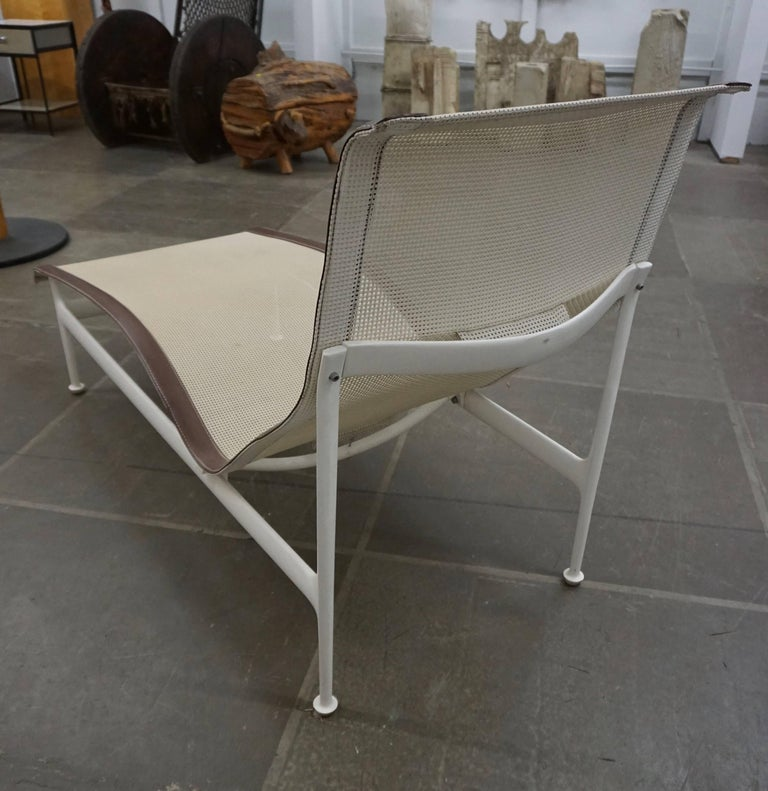 American Pair of Richard Schultz Contour Lounge Chairs For Sale