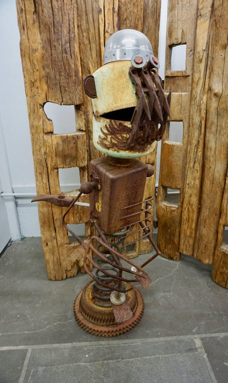 "Funky ""Found Object"" Sculpture by James ""Pelon"" Bauer 2"
