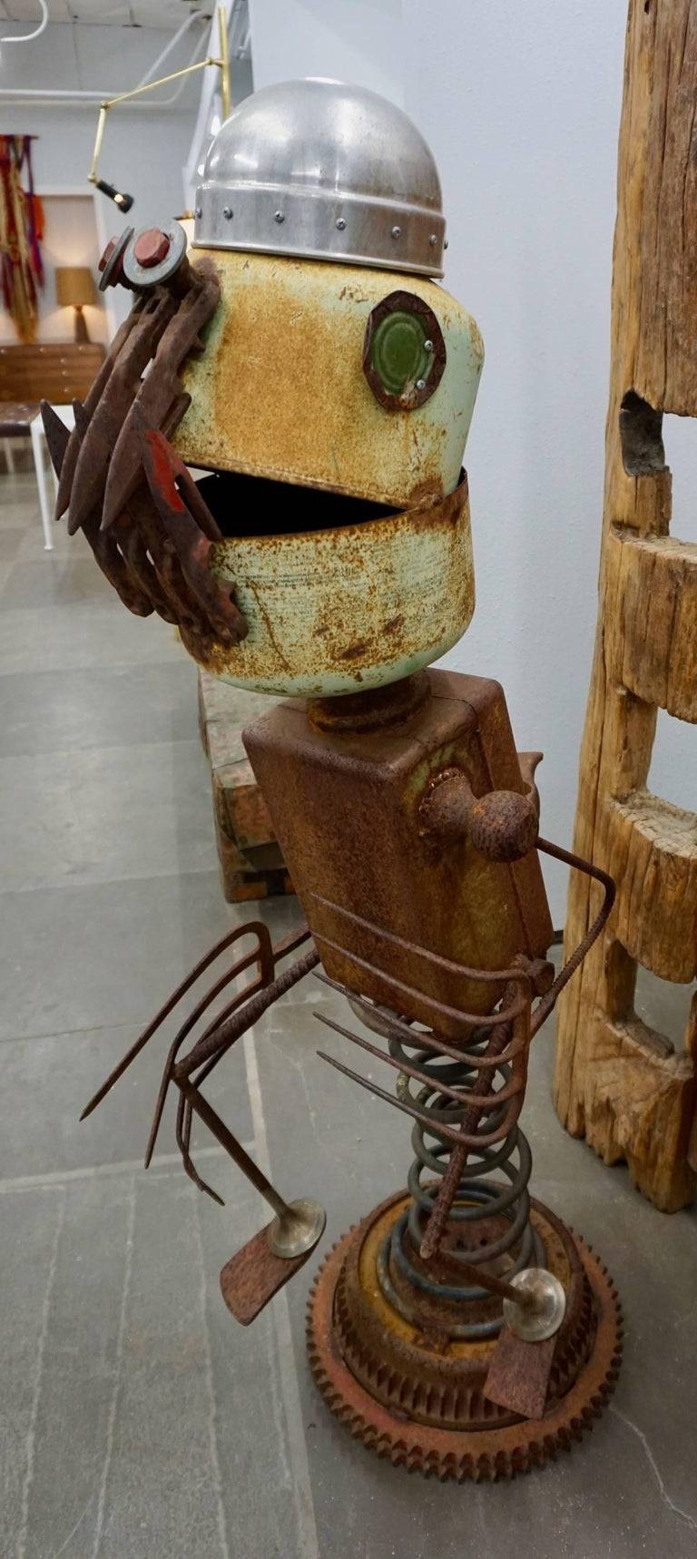 "Funky ""Found Object"" Sculpture by James ""Pelon"" Bauer 4"