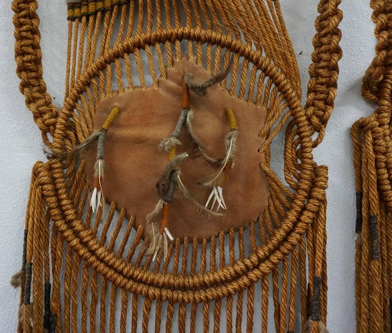 Tribal Art / 1960s Hippie Wall Hanging Combo 3