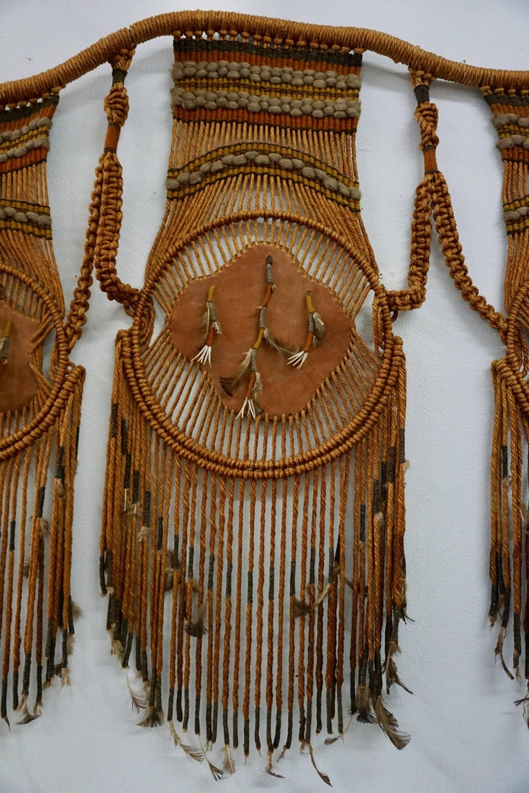Tribal Art / 1960s Hippie Wall Hanging Combo 4
