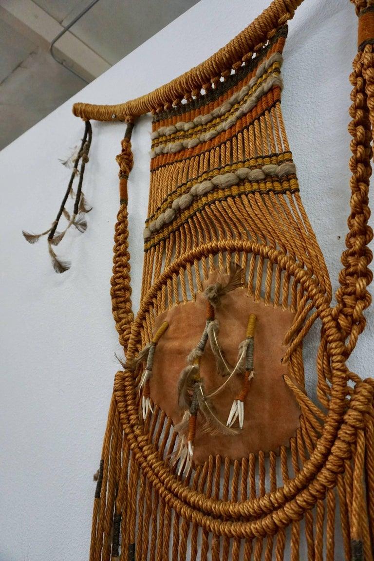 Tribal Art / 1960s Hippie Wall Hanging Combo 5