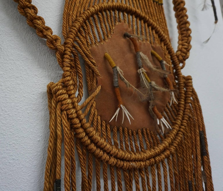 Tribal Art / 1960s Hippie Wall Hanging Combo 7