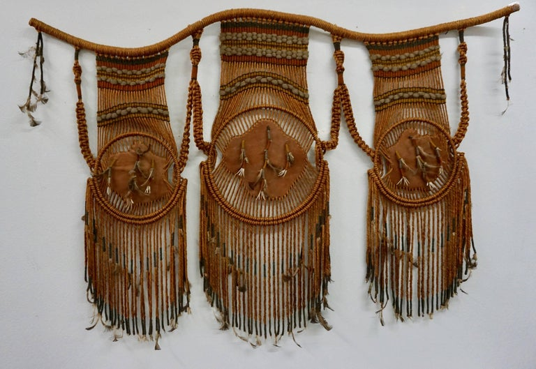 Tribal Art / 1960s Hippie Wall Hanging Combo 9