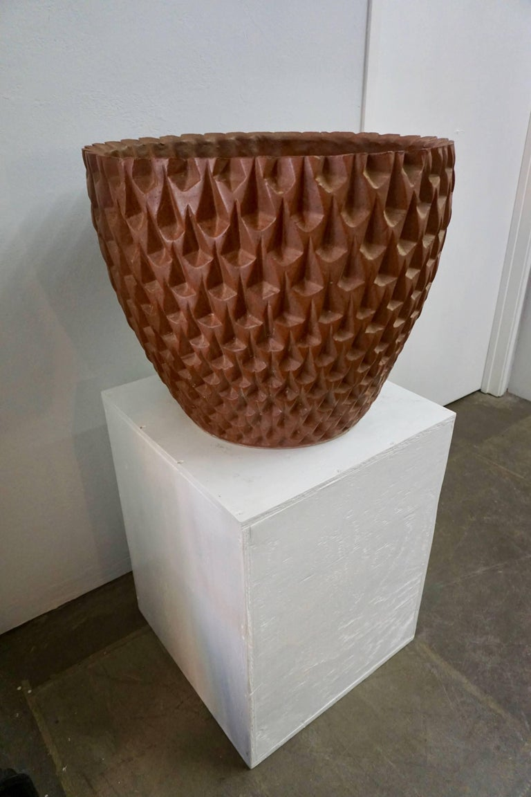 Designed by Cressey for Architectural Pottery as part of the Artist-in-Residence program.
