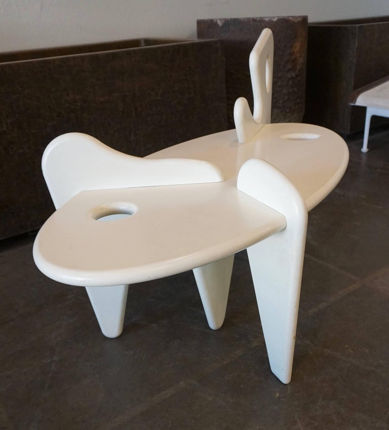 Mid-Century Modern Organically Shaped Coffee Table For Sale