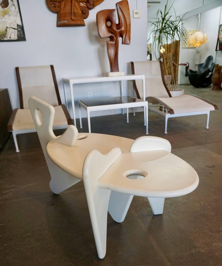 Organically Shaped Coffee Table 7