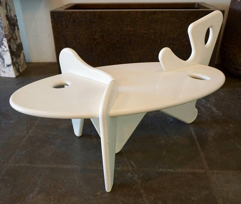 Organically Shaped Coffee Table For Sale 3