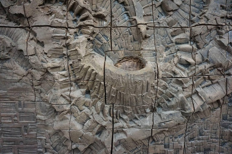 Massive Ceramic Wall Relief by Stan Bitters and John Bennett 3