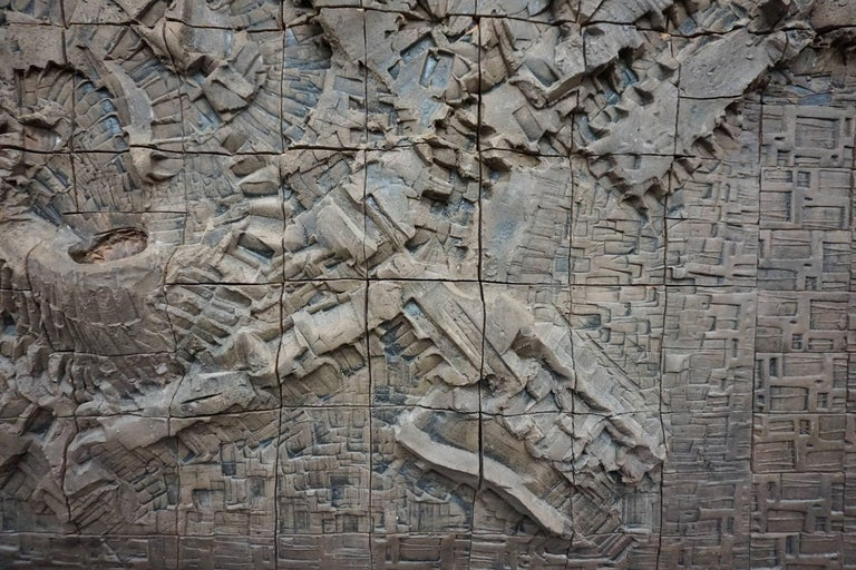 Massive Ceramic Wall Relief by Stan Bitters and John Bennett 4