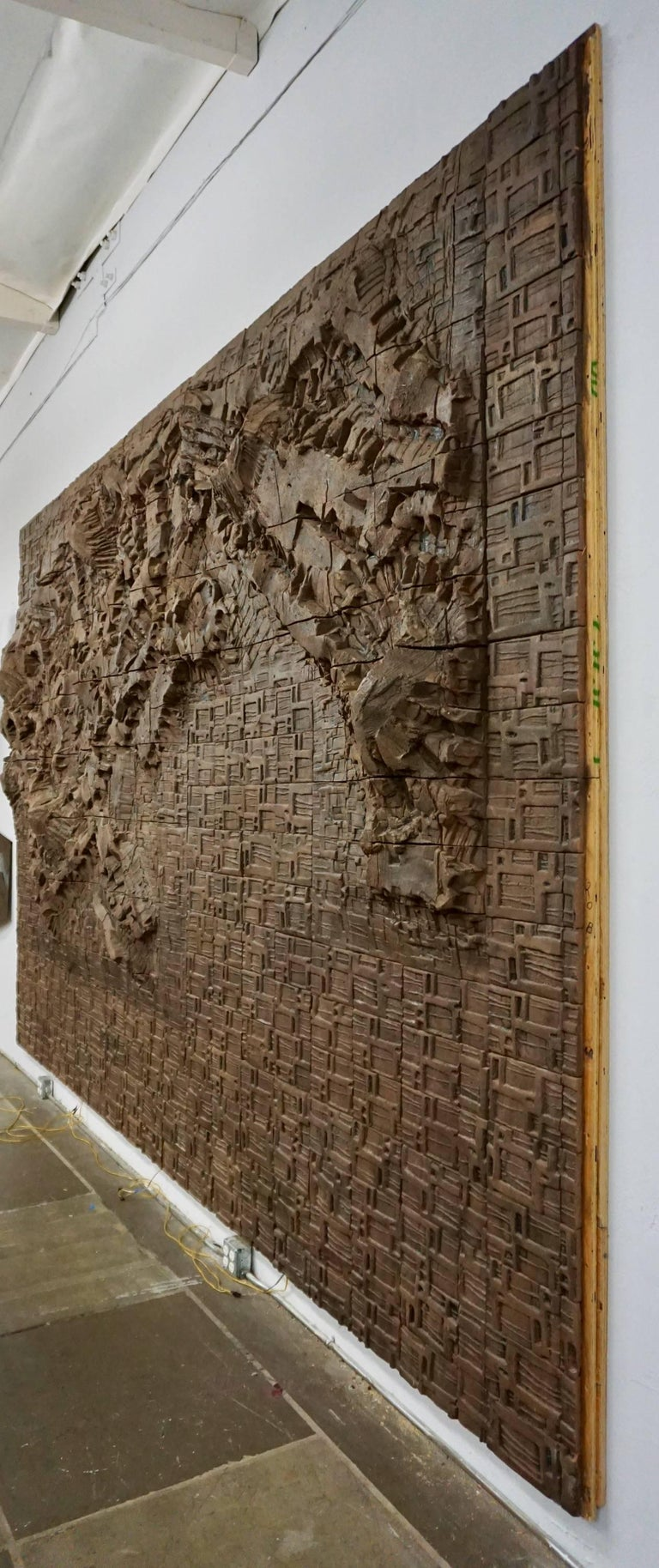 Massive Ceramic Wall Relief by Stan Bitters and John Bennett 5