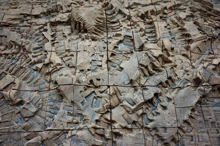 Massive Ceramic Wall Relief by Stan Bitters and John Bennett 7
