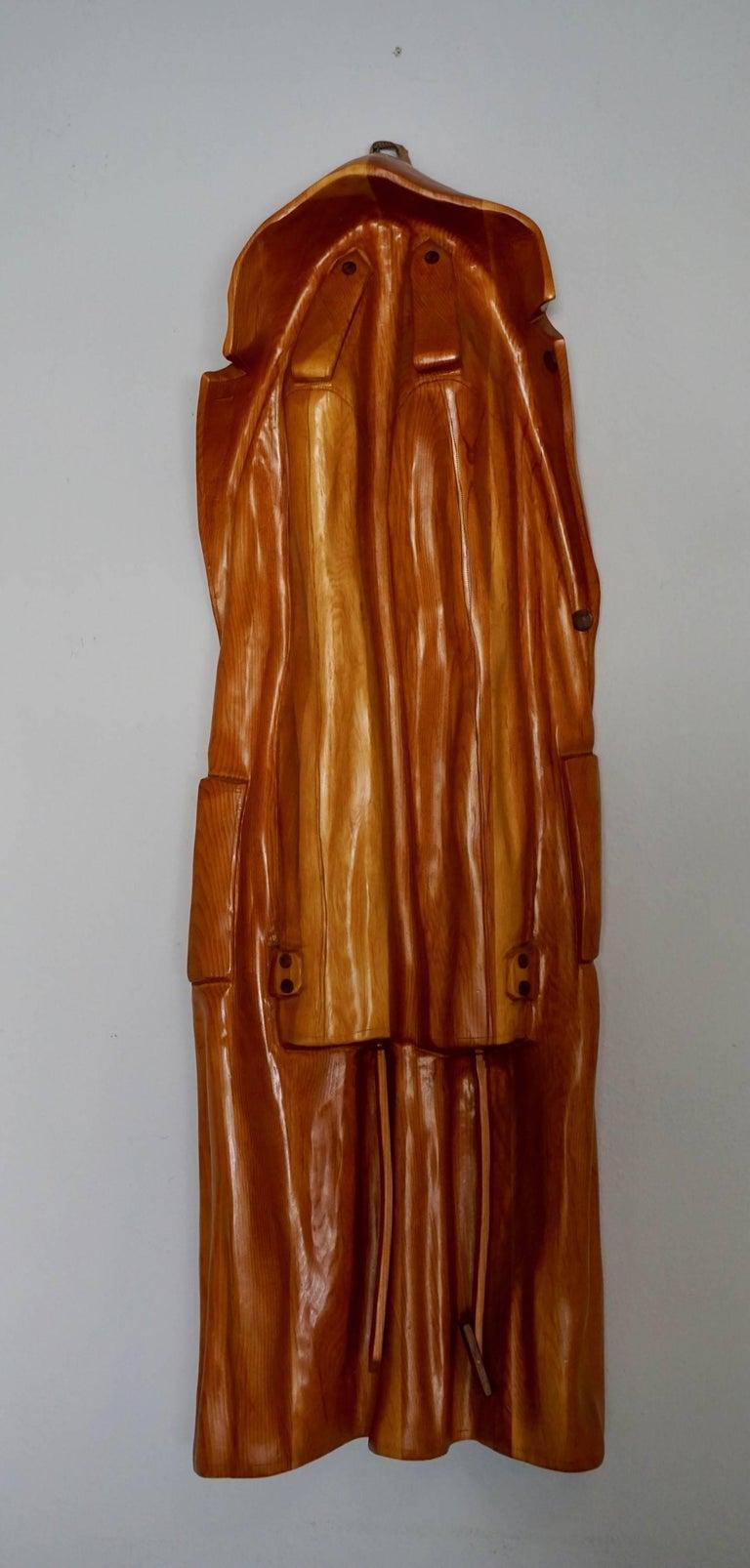 Pop Art Raincoat Sculpture by Rene Megroz 9