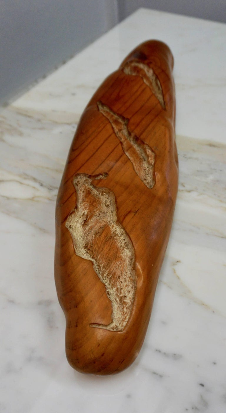 Pop Art Loaf of Bread Sculpture by Rene Megroz In Excellent Condition For Sale In Cathedral City, CA