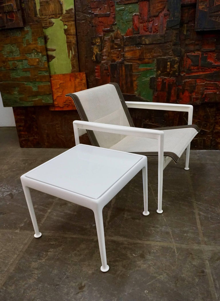 Pair of Richard Schultz Lounge Chairs for Knoll 8