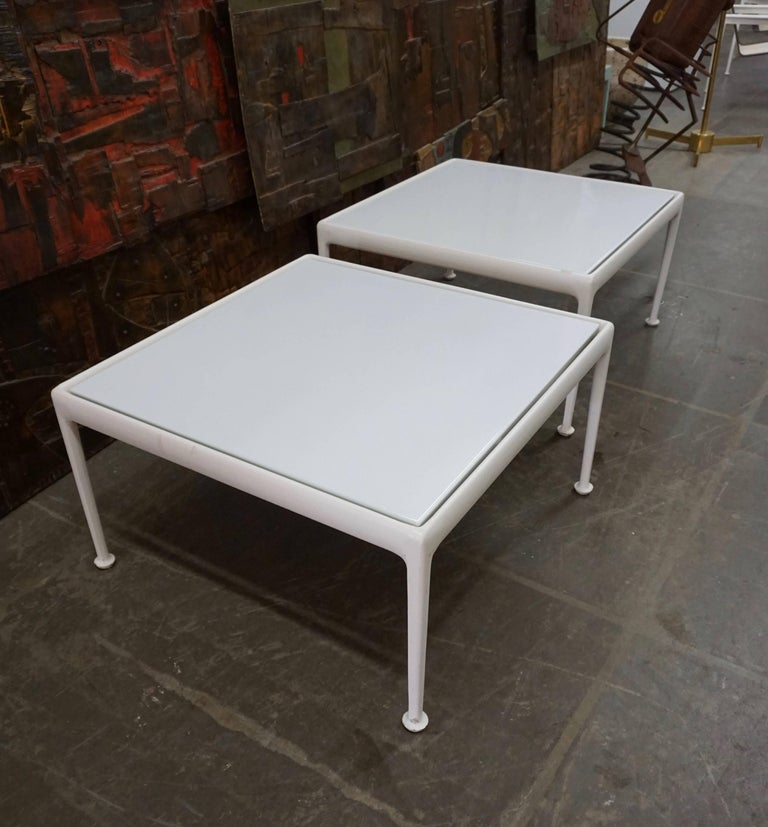 Versatile Patio Tables by Richard Schultz for Knoll In Good Condition For Sale In Cathedral City, CA