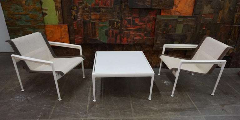 Mid-20th Century Versatile Patio Tables by Richard Schultz for Knoll For Sale