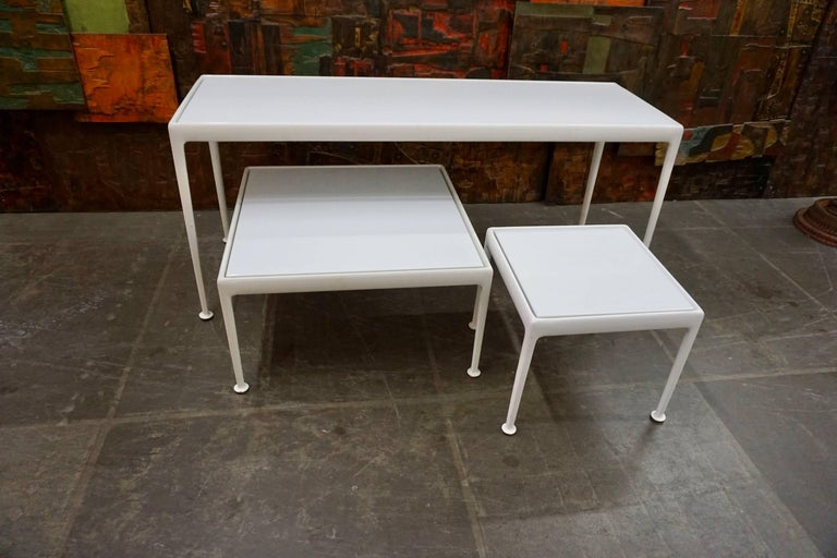 Versatile Patio Tables by Richard Schultz for Knoll For Sale 2