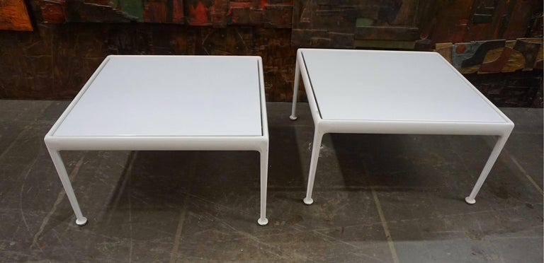 Pair of Richard Schultz Chaise Lounges for Knoll For Sale 2