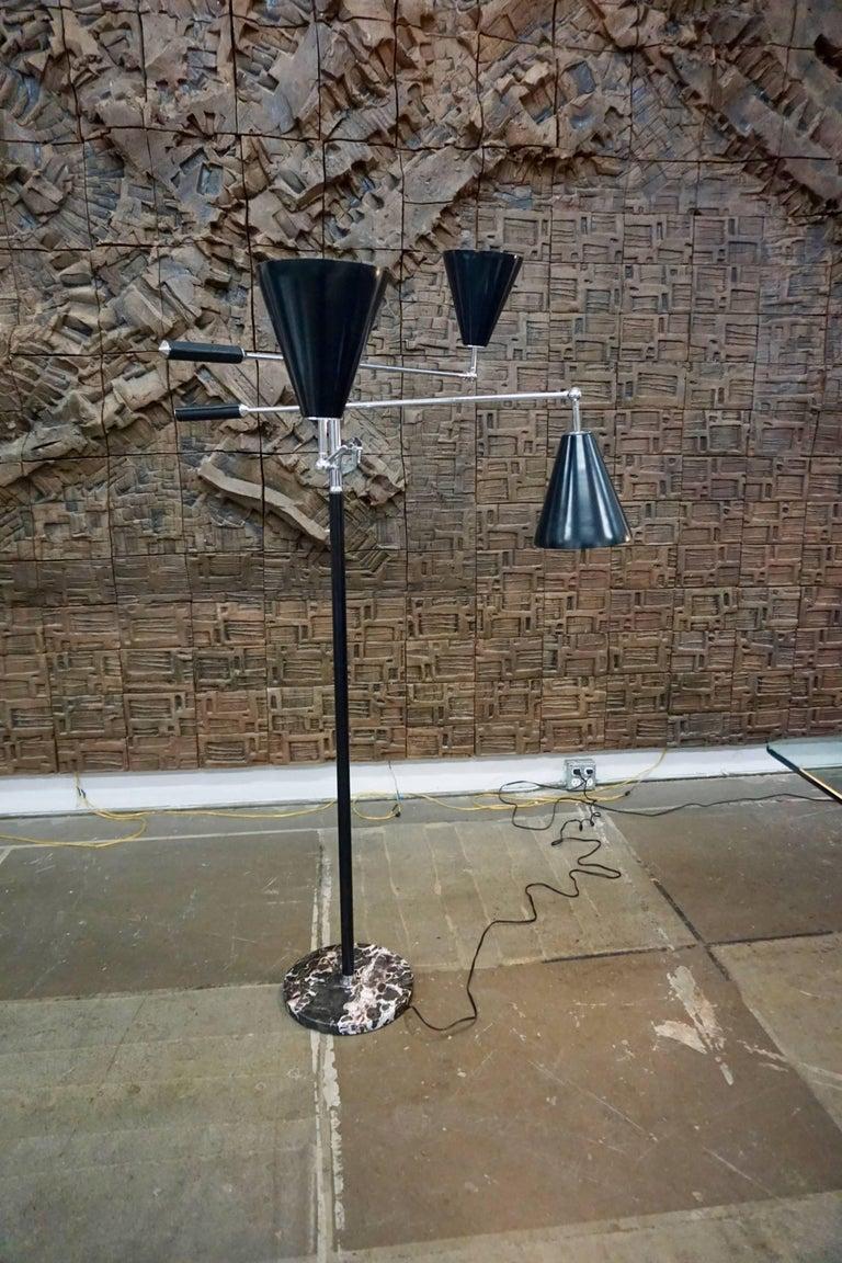 20th Century Arredoluce Style Floor Lamp For Sale
