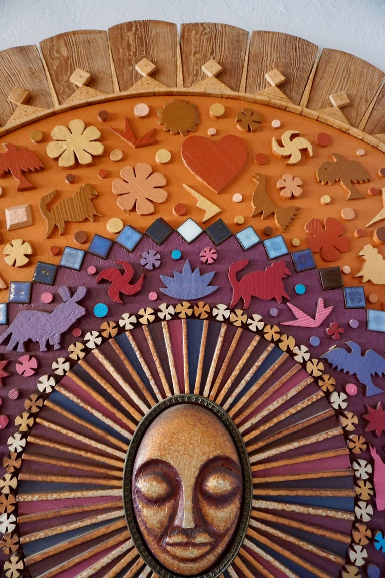 Whimsical Assemblage or Collage by Dennis Davis 9