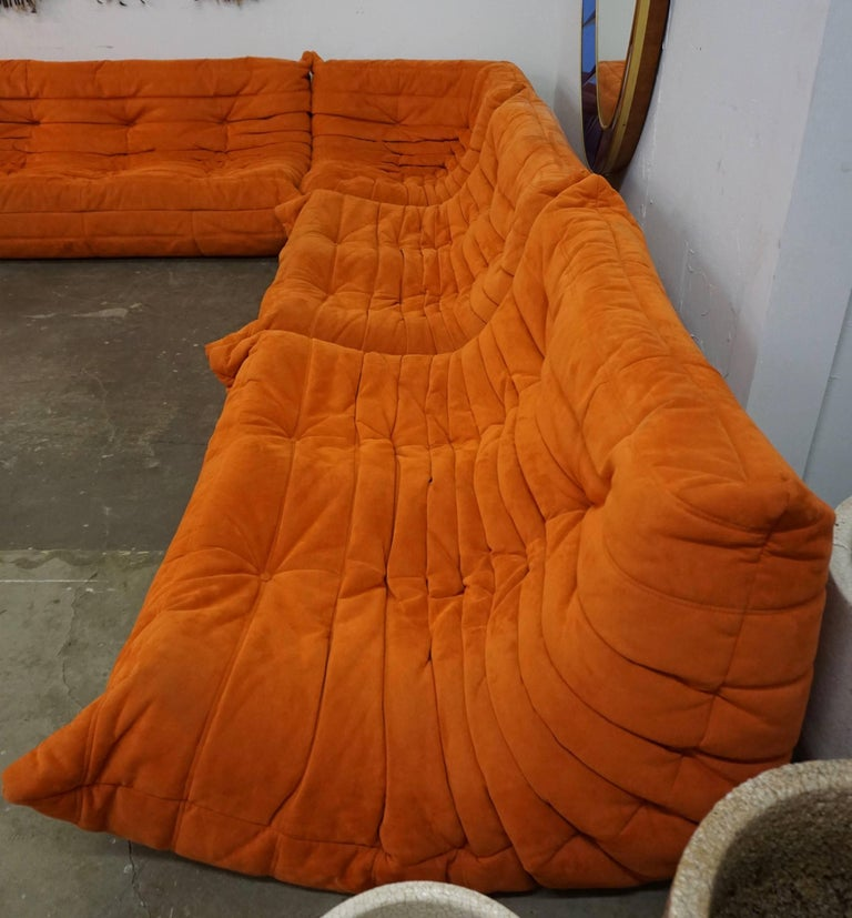 """Ligne Roset """"Togo"""" Sofa by Michel Ducaroy In Excellent Condition For Sale In Cathedral City, CA"""