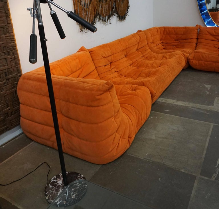 """Late 20th Century Ligne Roset """"Togo"""" Sofa by Michel Ducaroy For Sale"""