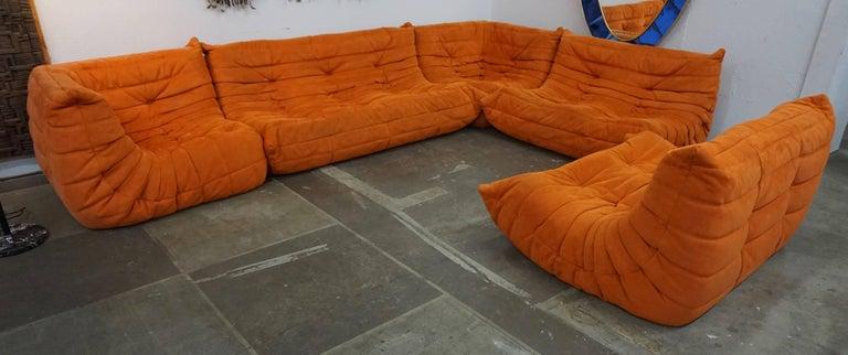 "Ligne Roset ""Togo"" Sofa by Michel Ducaroy For Sale 2"