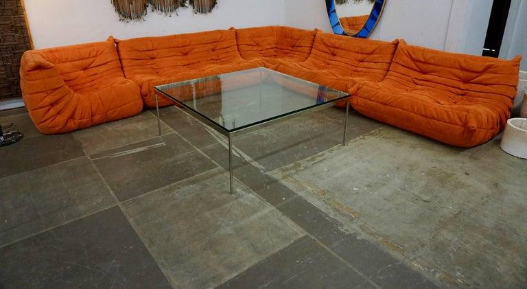 "Ligne Roset ""Togo"" Sofa by Michel Ducaroy For Sale 3"
