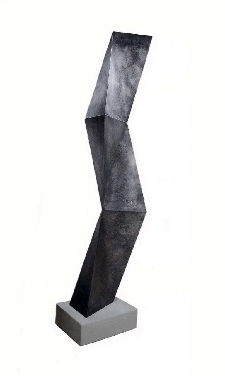 Scott Donadio is a listed and highly respected and collected artist whose monumental steel abstract sculptures and his refined carved stone and marble sculptures are in many private collections throughout the U.S., Canada, Europe and Australia, as