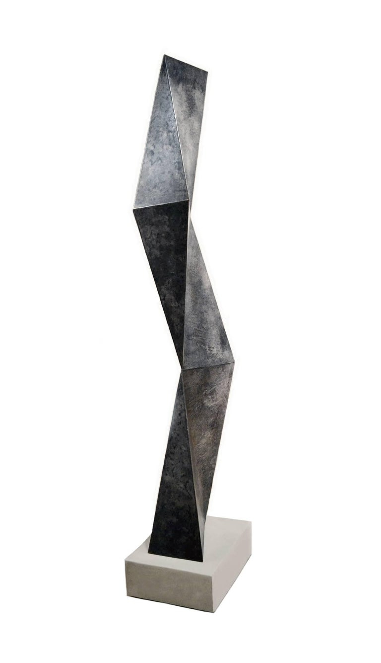 American Monumental Abstract Steel Sculpture by Artist Scott Donadio For Sale