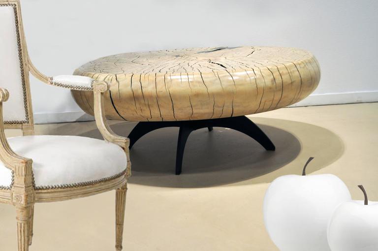 Mid-Century Style Cottonwood Table by Artist Daniel Pollock 5