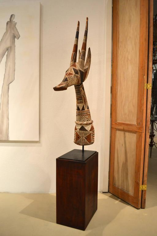 Vintage African Impala Antelope Sculpture 6