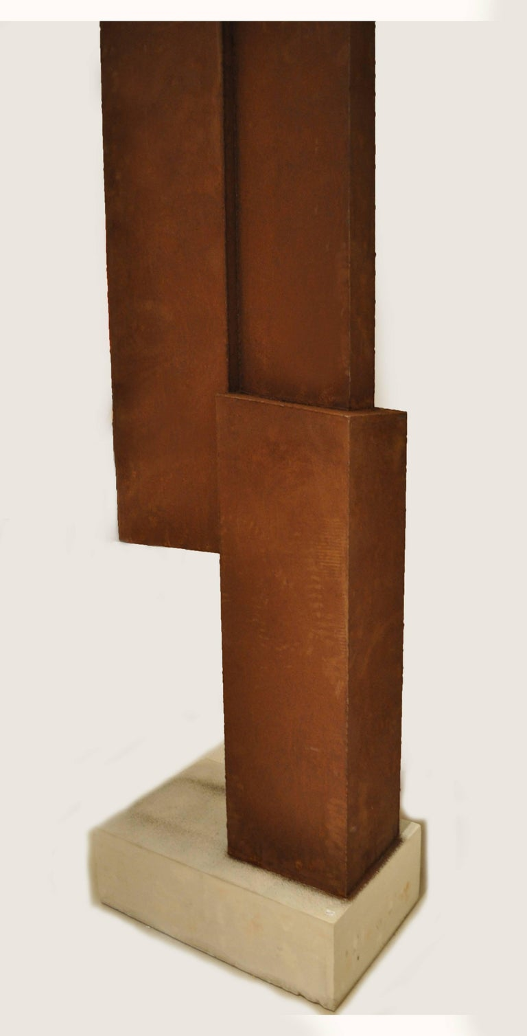 Abstract Steel Sculpture by Artist Scott Donadio 2