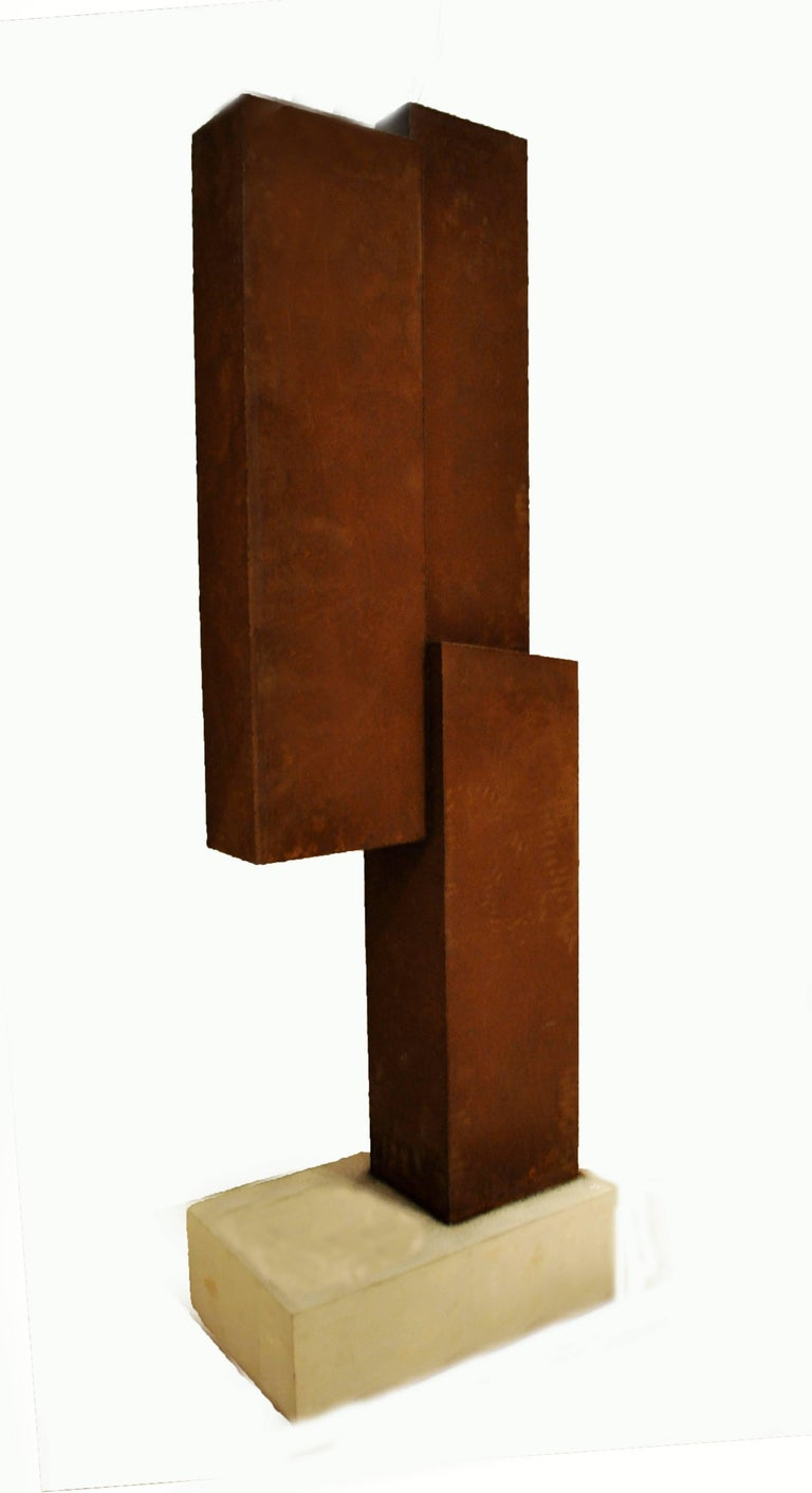 Abstract Steel Sculpture by Artist Scott Donadio 3