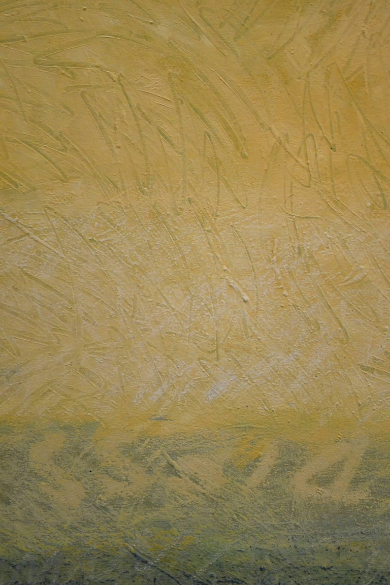 """Abstract Oil on Canvas Titled """"Solitude"""" by Robert Diesso 3"""
