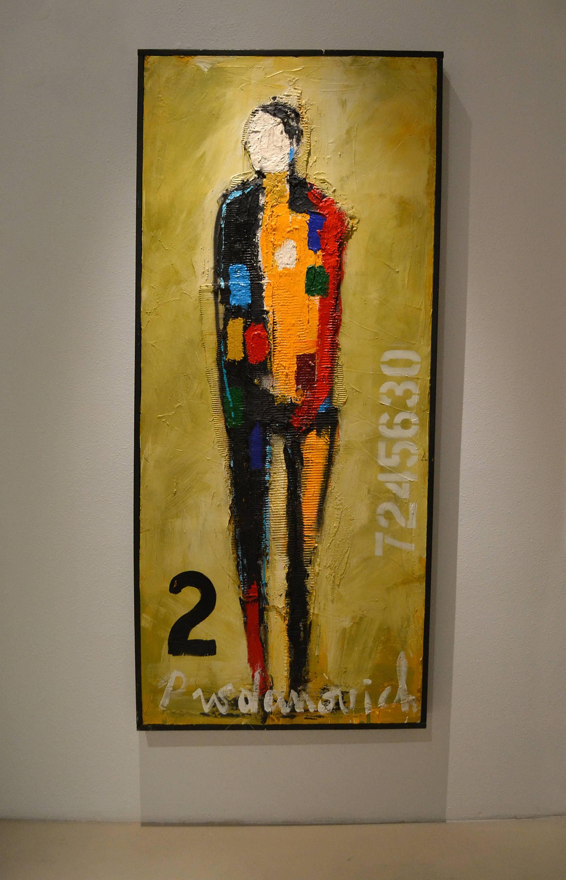 Figurative with No. 2 by Vladimir Prodanovich For Sale at 1stdibs