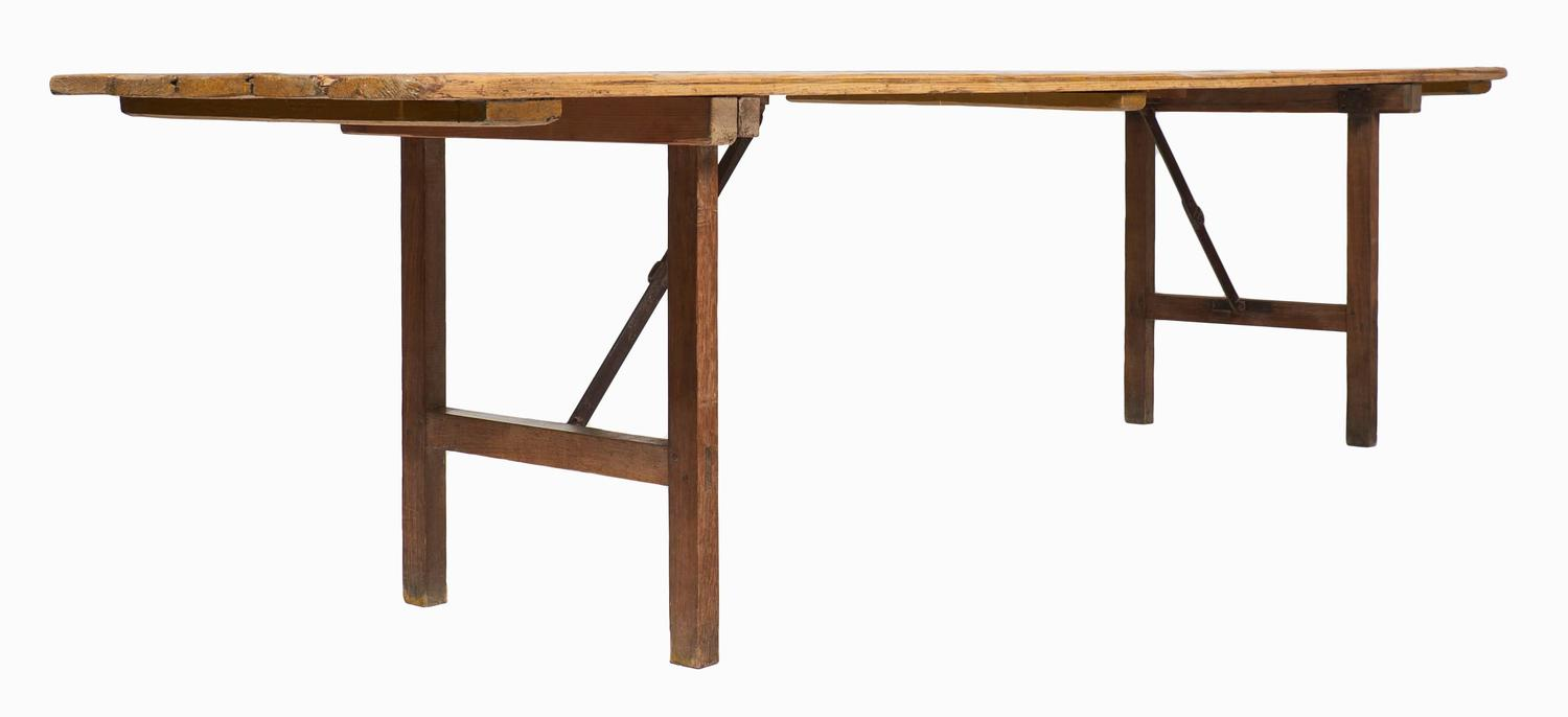 Vintage Folding Table : Antique French