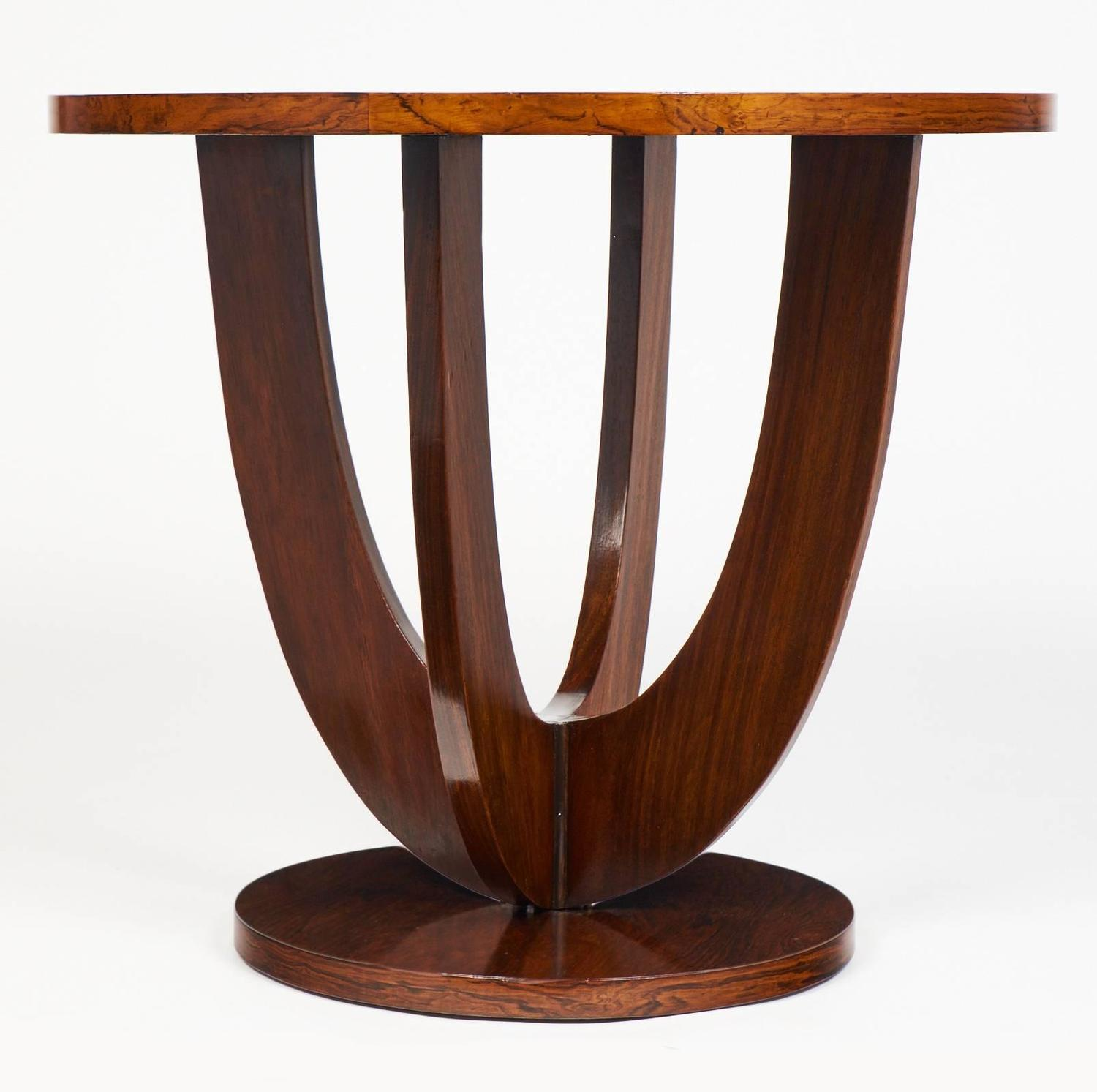 Art deco period french gueridon for sale at 1stdibs for Art deco period