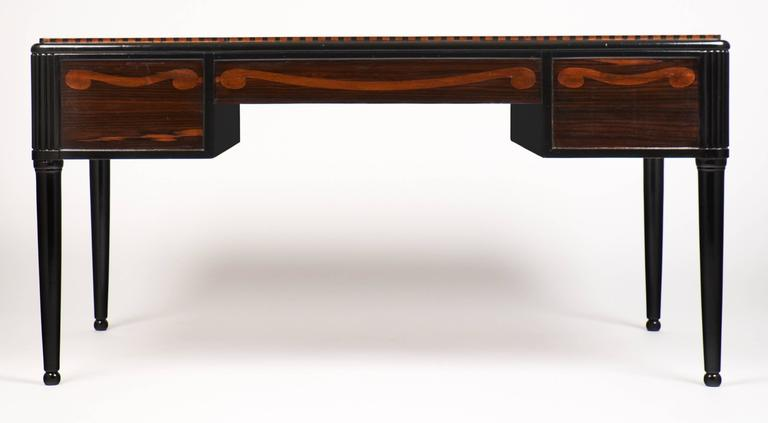 French Art Deco Desk in the Manner of André Groult For Sale 1
