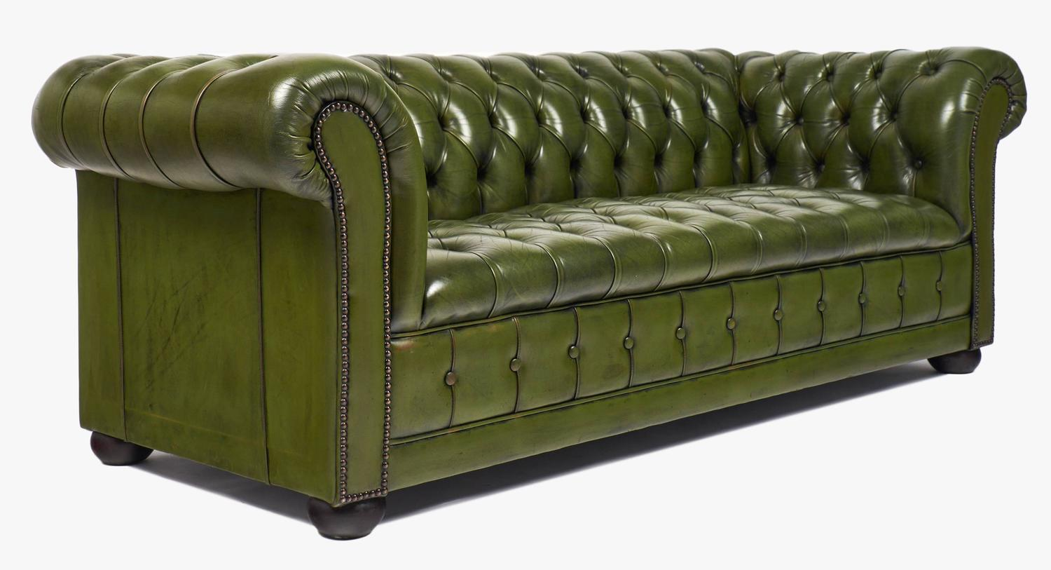 Leather Chesterfield Sofa At