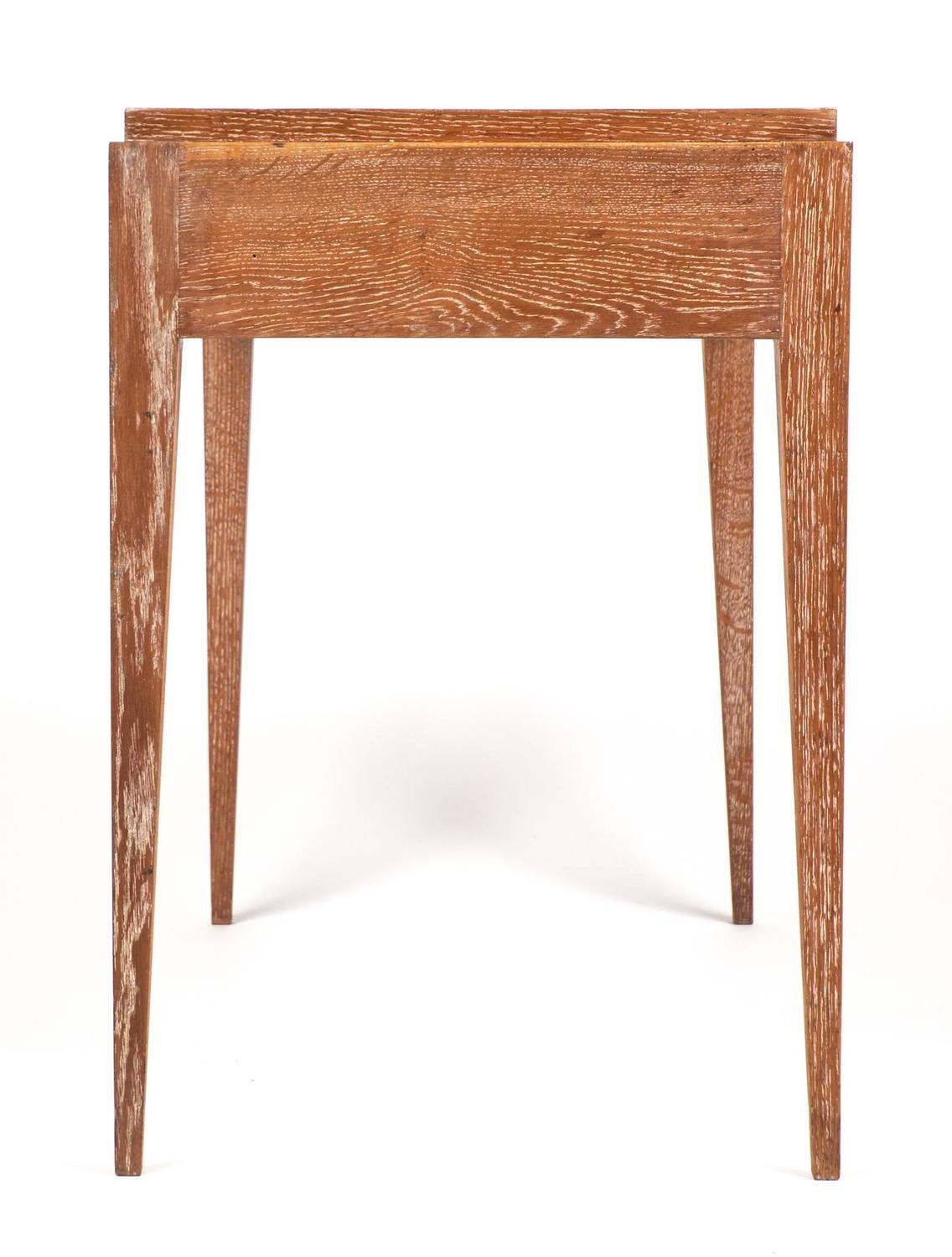 Marvelous photograph of French Art Deco Period Cerused Oak Writing Desk at 1stdibs with #8C4F30 color and 1136x1500 pixels