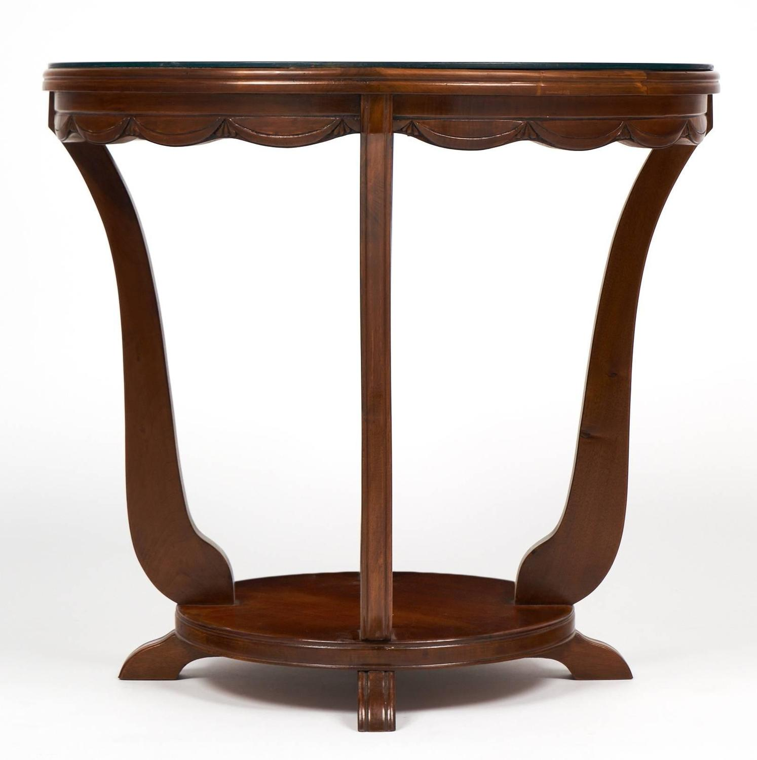 French art deco period garlanded gueridon for sale at 1stdibs for Art deco period